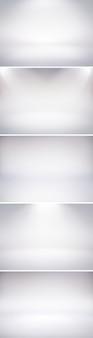 5 białych teł studio