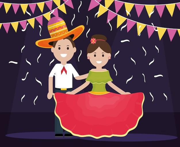 5 maja karta z tradycyjną parą