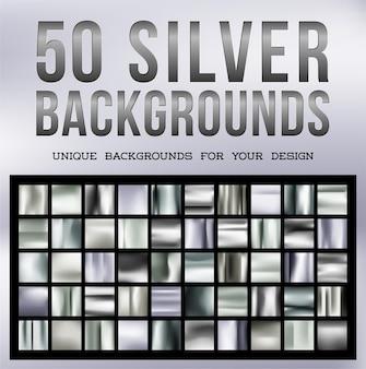 50 wyjątkowych srebrnych teł