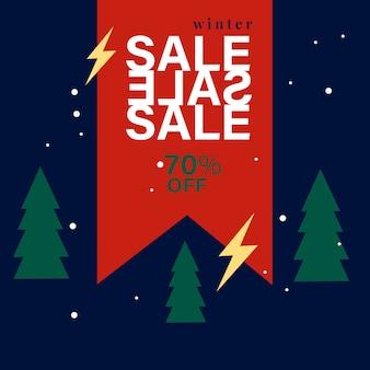 70% zniżki na sprzedaż sprzedaż wektor znaczek