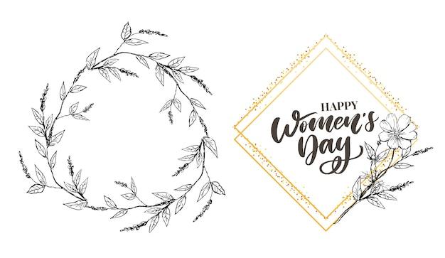 8 marca. szczęśliwego dnia kobiet