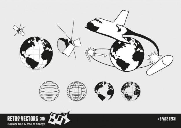 80s przestrzeni technologii