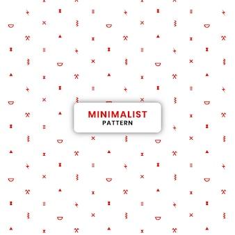 96.red minimalistyczny wzór tła eps.10