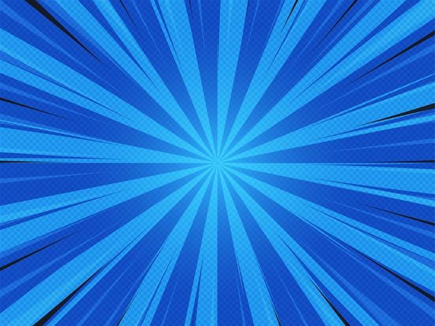 Abstack styl kreskówki tło. bigbamm lub sunlight, sunburst