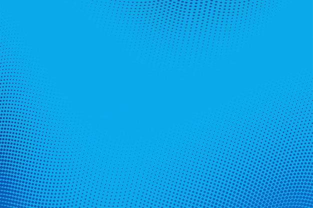 Abstack tło styl kreskówki półtony niebieski gradient