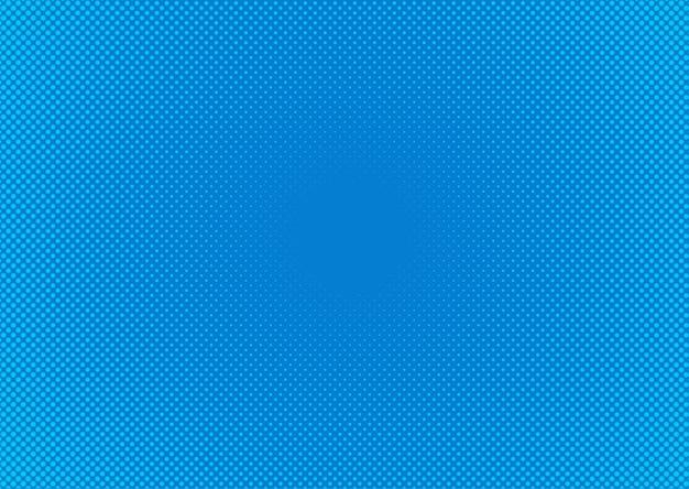 Abstack tło styl kreskówki półtony niebieski gradient.