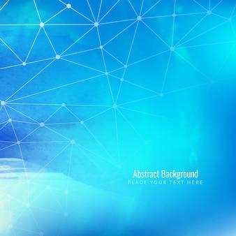 Abstarct niebieskim tle technologii