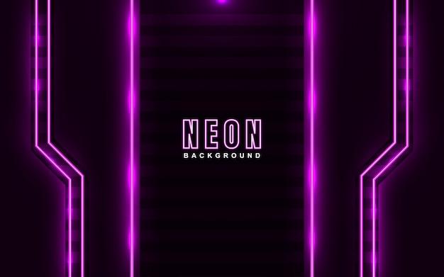 Abstrac jasnoróżowy efekt neonowego tła