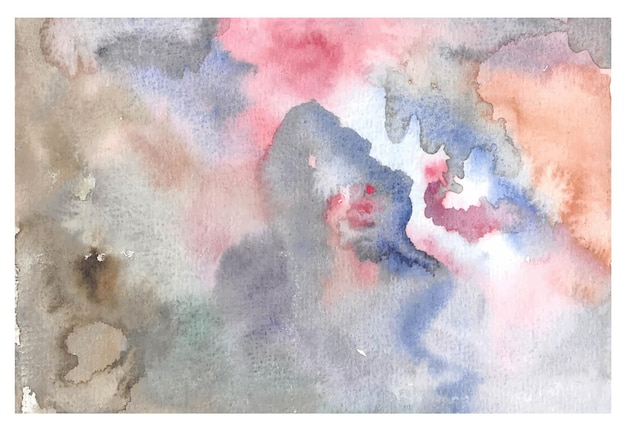 Abstrack ręcznie malowanie tła akwarela