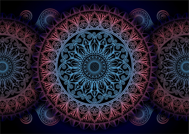 Abstrack tło mandali