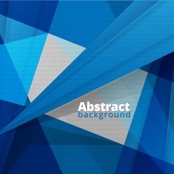 Abstract blue geometryczne brackground