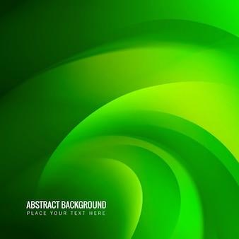 Abstract green wave kontekst