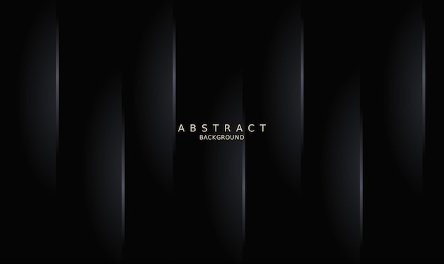 Abstrak geometris gelap minimalna latar belakang abstrak modern