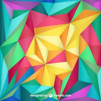 Abstrakcja, tapeta, trójkąty