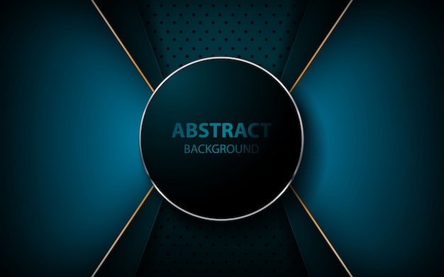 Abstrakcjonistyczna błękitna strzała na zmroku - błękitny tło