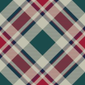 Abstrakcjonistyczna czek szkockiej kraty tkaniny bezszwowa tekstura
