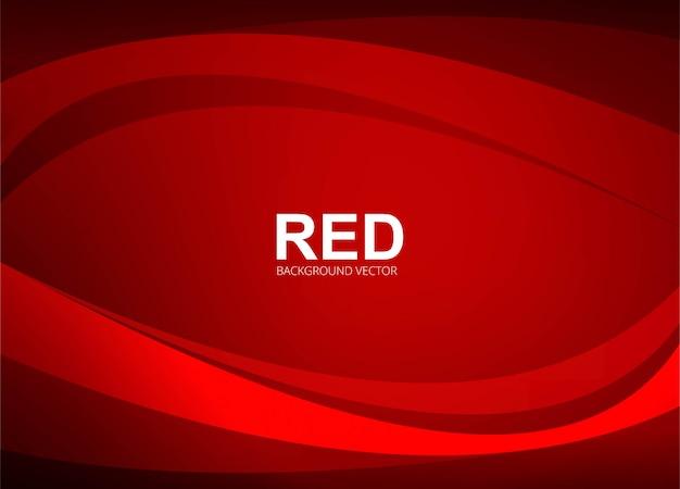 Abstrakcjonistyczna czerwona falista tło ilustracja