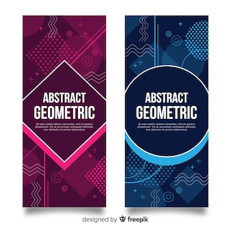 Abstrakcjonistyczna geometryczna kolekcja