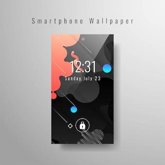 Abstrakcjonistyczna nowożytna smartphone tapeta