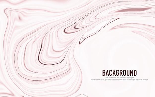 Abstrakcjonistyczna pastelowa różowa marmurkowata powierzchnia