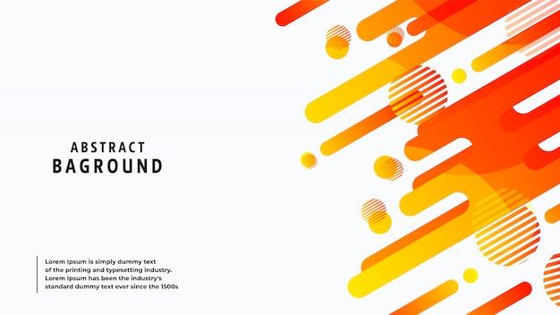 Abstrakcjonistyczne tło pełne kolory i linie w pięknym połączeniu.