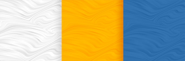 Abstrakcjonistycznego falistego kształta wzoru tła pusty set