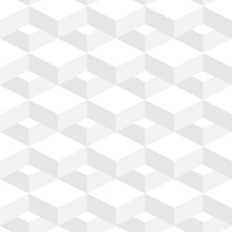 Abstrakcjonistycznego geometrycznego tła biały kolor w 3d projekcie