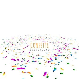 Abstrakcjonistycznego kolorowego confetti dekoracyjny tło