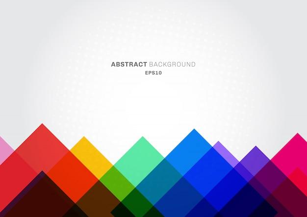 Abstrakcjonistycznego tła kolorowi nowożytni trójboki