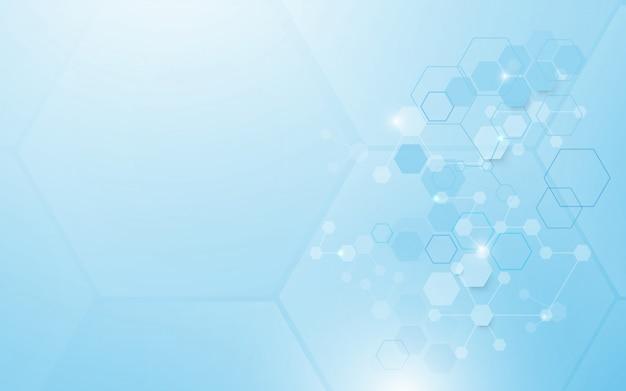 Abstrakcjonistycznej technologii tła cyfrowy cześć technika