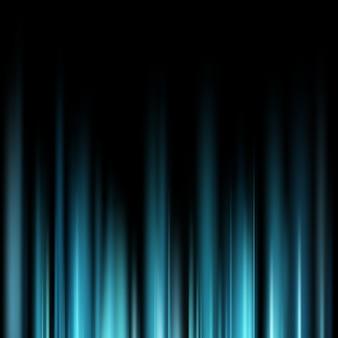 Abstrakcjonistyczni błękitni magiczni lekcy promienie nad ciemnym tłem.