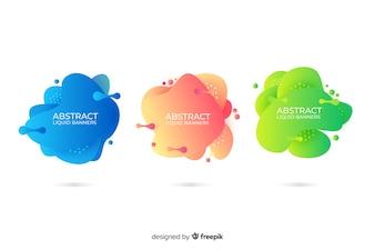 Abstrakcjonistyczni ciekli sztandary
