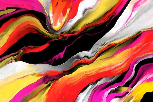 Abstrakcjonistyczny akrylowej farby pluśnięcia tło