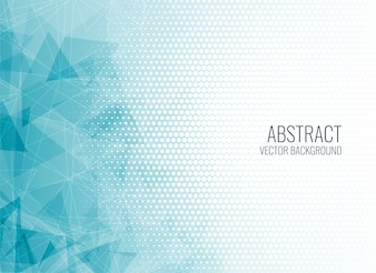 Abstrakcjonistyczny błękitny geometryczny kształta tło