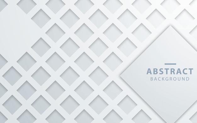 Abstrakcjonistyczny biały prostokąt tekstury tło