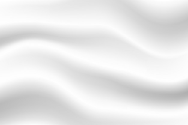 Abstrakcjonistyczny biały tło, piękny biały marszczący tkaniny tło