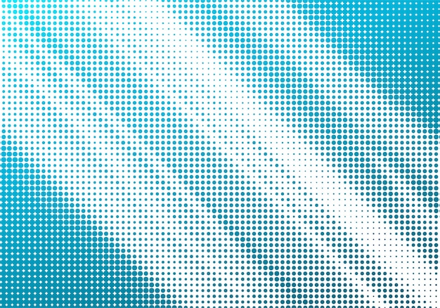 Abstrakcjonistyczny błękitny halftone bielu tło