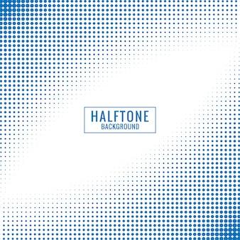Abstrakcjonistyczny błękitny i biały halftone tło