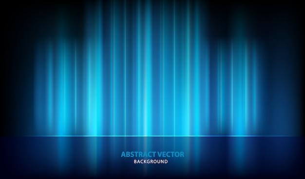 Abstrakcjonistyczny błękitny lekki wektorowy tło