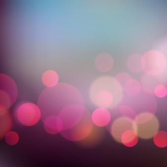 Abstrakcjonistyczny bożonarodzeniowe światła tło z bokeh