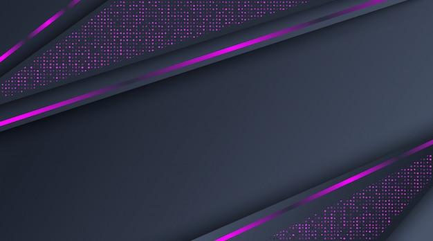Abstrakcjonistyczny ciemny neonowy purpurowy błyskotliwości tło