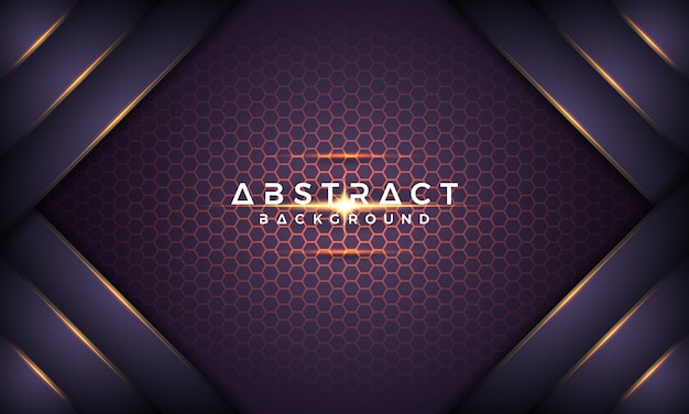 Abstrakcjonistyczny ciemny purpurowy kruszcowy 3d wektoru tło.