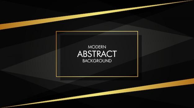 Abstrakcjonistyczny czarny i złoty tło