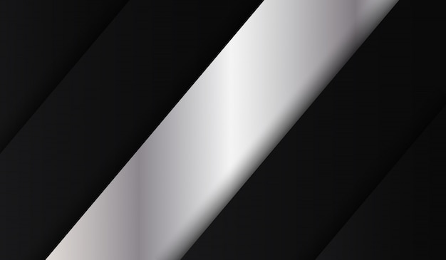 Abstrakcjonistyczny czarny kruszcowy fałd techniki tło