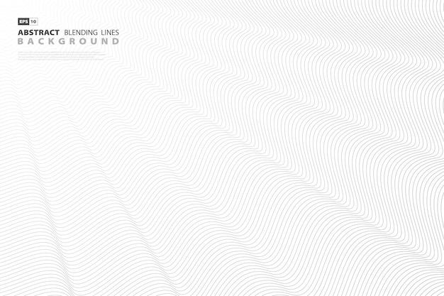 Abstrakcjonistyczny czarny mieszanki linii tło