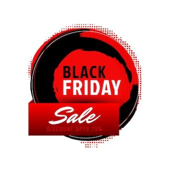 Abstrakcjonistyczny czarny piątek sprzedaży tło