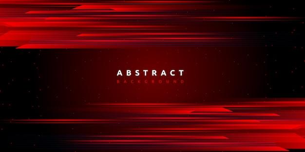 Abstrakcjonistyczny czerwone światło wysoki prędkość ruchu technologii tło