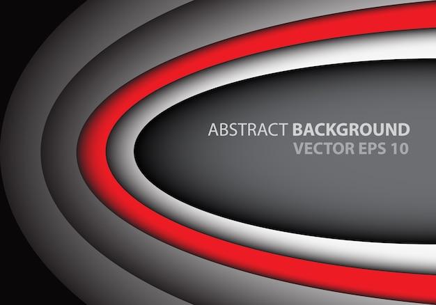 Abstrakcjonistyczny czerwony siwieje krzywa pustego astronautycznego teksta projekt kreatywnie