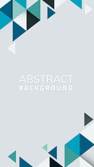 Abstrakcjonistyczny geometryczny błękitny tło