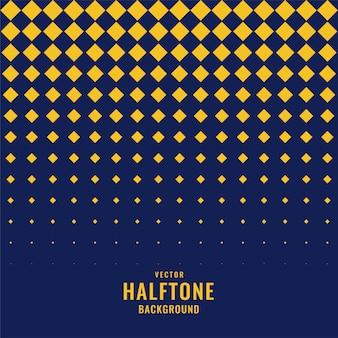Abstrakcjonistyczny geometryczny diamentowy kształta halftone tło